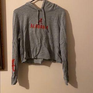 Alabama crop sweatshirt